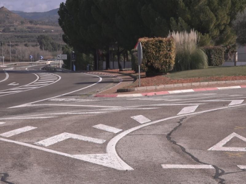 Dirigimos las obras para la construcción de una rotonda en Ascó