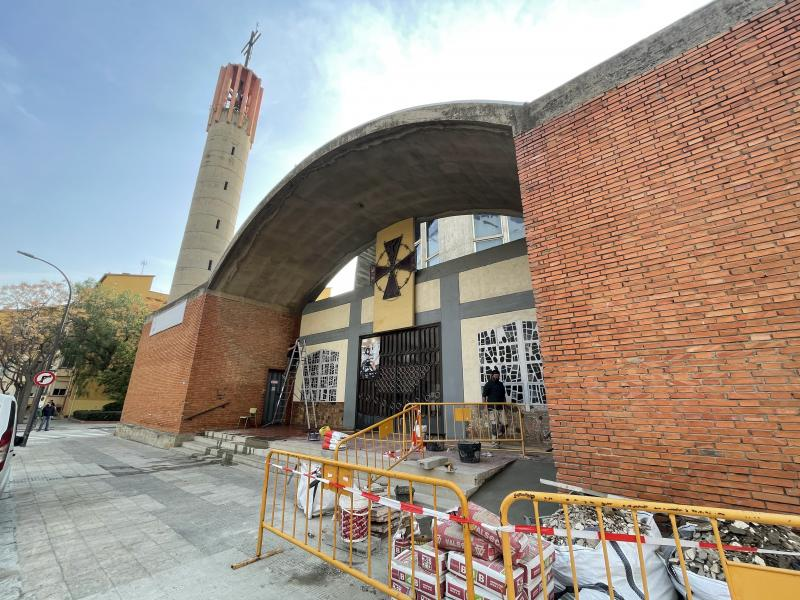 The parish of Sant Bernat Calvó in the final stretch of its works