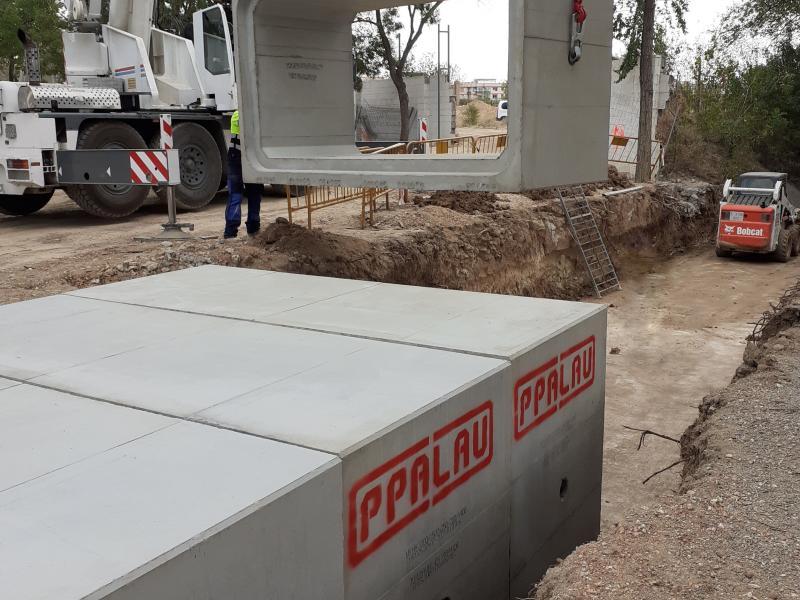 Acabamos el proyecto de canalización y dirección de obra en la escuela de La Canonja